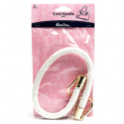 Bag Handle - Cord - 48cm - White - H4510.WH